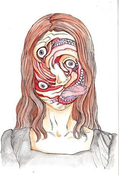 frustrated — doctormeloku:  Shintaro Kago