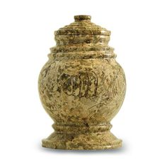 Fossilized Stone Keepsake Urn