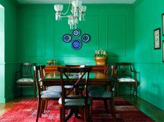 Open house - Regina Meira. Veja mais: https://casadevalentina.com.br/blog/detalhes/open-house--regina-meira-2827 #decor #decoracao #interior #design #casa #home #house #idea #ideia #detalhes #details #openhouse #style #estilo #casadevalentina #diningroom #saladejantar #green #verde