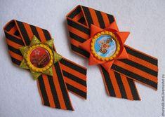 Купить Брошь к 9 мая в интернет магазине на Ярмарке Мастеров 9 Mai, Maya, Bracelet Watch, Ribbons, Watch, Grinding, Maya Civilization