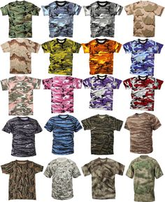 Camouflage Tactical Military Short Sleeve Army Camo T-Shirt  ArmyUniverse   TShirt Tactical Uniforms be240961f72