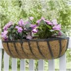 Vigoro 24 in. Metal English Horse Trough Planter HTR24TBVG at The Home Depot - Mobile