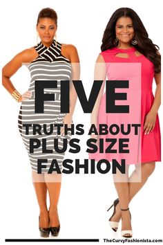 Five Truths about Plus Size Fashion. www.full-filled.co.uk #fashion #plussize
