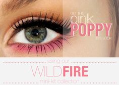 perfect smudgy cateye and pink