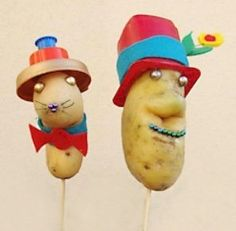 Sr y Sra Patata para niños de preescolar