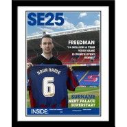 Crystal Palace Magazine Cover Gifts For Football Fans, Personalized Football, Crystal Palace, Magazine, Baseball Cards, Cover, Sports, Touch, Hs Sports