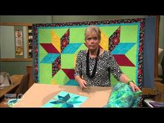 Sew Speedy Lone Star Quilts - SEWING WITH NANCY - YouTube