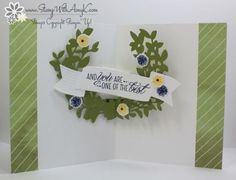 I used the Stampin' Up! Lovely Friends stamp set bundle from the upcoming 2017-18 Annual Catalog to create my card for the Happy Inkin' Thursday Blog Hop today. We've got a color challenge this week a