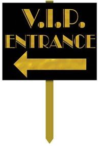 Hollywood VIP Entrance Yard Sign,- Party Junction offers a huge range of Discount party supplies and Party Balloons with thousands of theme party supplies, birthday party supplies, tableware, decorations, costumes and accessories.