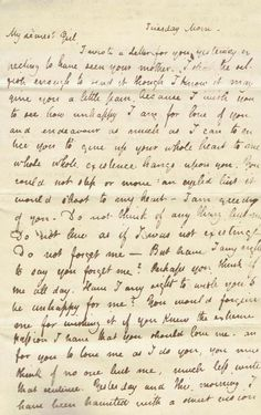 Copy of an original letter from John Keats  to Fanny Brawne     c. May 1820 Do not forget me.