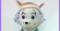 Este patrón a sido creado por @almadeitami ( en Instagram) para la Comunidad del Ganchillo( en Facebook), si lo hacéis no olvidéis menci... Cami, Teddy Bear, Toys, Crochet Dolls, Amigurumi Doll, Smurfs, Paw Patrol, Crochet Animals, Crochet Jacket