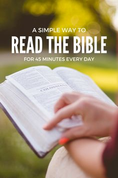 There is nothing more important than spending regular time with the Lord. In John 15 Jesus said: Abide in me, . Read moreA Simple Way To Spend 45 Minutes A day With The Lord The Words, Jesus Quotes, Bible Quotes, Ways To Read The Bible, Uplifting Bible Verses, Devotional Journal, Bible Journal, Bible Study Tips, Battle Cry