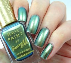 Barry M Aquarium Collection Swatches and Review