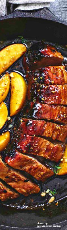 One pan brown sugar pork and apples