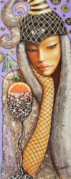 """Saatchi Art Artist Dobriela Koeva; Painting, """"I see"""" #art"""
