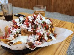 Stable 12 nachos and beer - http://www.thetowndish.com/2016/07/18/phoenixvilles-best-outdoor-spaces-dining-drinking/