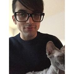 Mitch Grassi with glasses> Everyone else