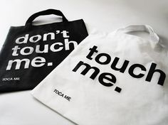 TOCA ME 15 welcome bag. don't touch me VS touch me #tocame15 #tocame #bags