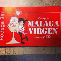 A comé! #málaga #bodega #elpimpi