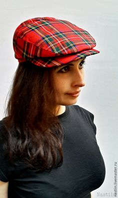 Womens newsboy hat Mens newsboy cap Boy newsboy hat Flat hat boys Driver cap  Stewart tartan hat plaid hat Red hat Derby hat for men flat cap 18bcb7921b