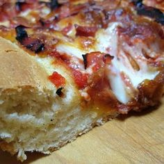 Chicago-Style Garlic and Butter Pizza Crust