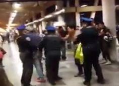 Jóvenes ebrios protagonizan riña en la estación del Metro San Andrés Tomatlán