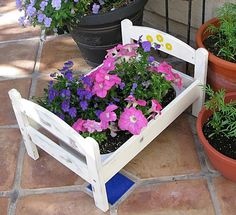 bed, flowers, gift, do it yourself, Garden, Gartengestaltung
