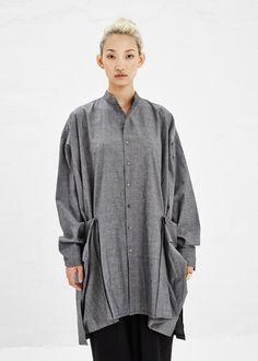 Boessert Schorn Pocket Shirt in Grey #totokaelo #boessertschorn