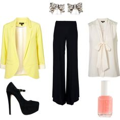 Work Fashion, created by briwil on Polyvore. The heels are too high to be practical for work though.