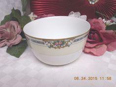 Noritake M ,White China dinnerware Ybry #76832 cranberry Bowl RARE!! #noritakeM #Noritake
