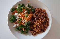 Quinoapilaf med kidneybønner vegetarisk christinebonde blog