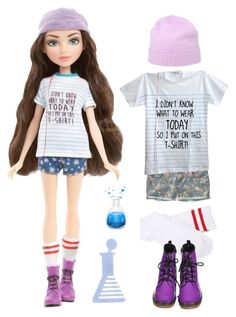 A fashion look from October 2015 featuring screen print t shirts, malo and jean shorts. Browse and shop related looks. Project Mc2 Toys, Project Mc Square, Dc Superhero Girls Dolls, Spy Girl, Robots For Kids, Love Fashion, Fashion Design, Toys For Girls, Clothing Patterns