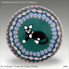 Perthshire Limited Edition Cat made for L H Selman    (www.pwts.co.uk ref. 4944)
