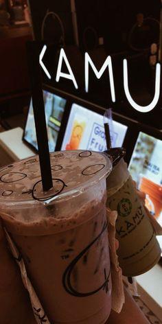 Cafe Food, Food N, Junk Food, Food And Drink, Bubble Milk Tea, Tumblr Food, Restaurant Recipes, Food Cravings, Baking Ingredients