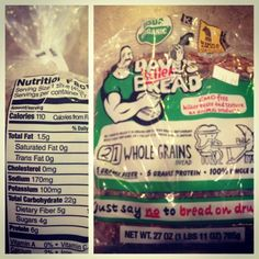 My latest obsession is Dave's Killer Bread!!! This bread is amazing! Organic, GMO free, 21 whole grains, 6 grams of protein per slice, 5 grams of fiber, 100% delicious!!! I got mine at Sprouts. Check Whole Foods, and even some Costcos!