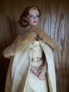 Tonner's 'And the Award Goes To' ~ on Joan Crawford doll ~ Image and styling by Edie in NY ~ The Studio Commissary