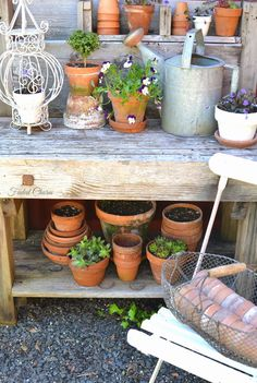 Faded Charm: ~Potting Areas~