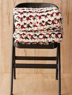 Super Cozy Crochet Puff Stitch Blanket