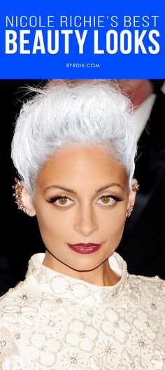 An ode to Nicole Richie's best, most daring beauty looks.