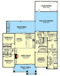 If you are going to build a barndominium, you need to design it first. And these finest barndominium floor plans are terrific concepts to begin with. Jump this is a popular article Custom Barndominium Floor Plans Pole Barn Homes Awesome. Craftsman Style House Plans, Country House Plans, Country Style Homes, New House Plans, Dream House Plans, Small House Plans, House Floor Plans, Dream Houses, Craftsman Houses