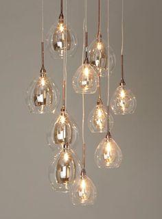 Carmella 10 light cluster - BHS Pendant