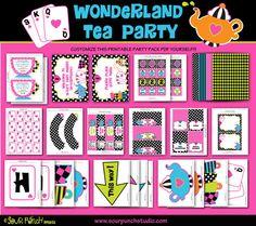 INSTANT DOWNLOAD Alice in Wonderland Mad Hatter by SourPunchStudio, $13.00