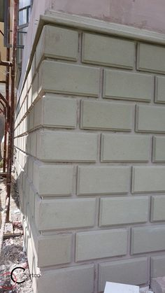 Fence Wall Design, House Front Wall Design, Exterior Wall Design, House Outside Design, House Plans Mansion, My House Plans, Classic House Design, Modern House Design, Staircase Design Modern