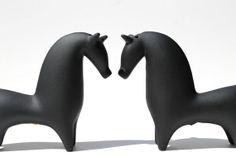 Minimalist Abstract Form Horse Sculptures Mid Century Modern op Etsy, 111,12€