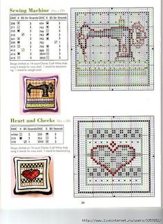 Cross-stitch Biscornu patterns, part 1... Gallery.ru / Фото #128 - Игольницы - elena-555
