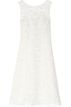 Nina Ricci Cotton-blend lace dress | NET-A-PORTER
