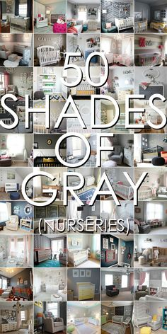 50 Gray Nurseries that we just LOVE | Project Nursery