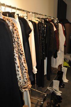 Racks of Clothing #tamaramellon #boots