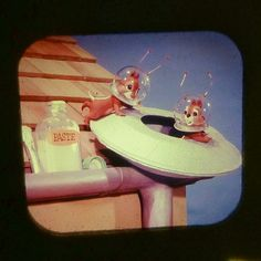 "LANCE CARDINAL: ""DONALD DUCK IN FLYING SAUCER PILOTS"" VINTAGE VIEW-MASTER REEL"