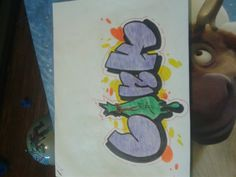 Art pencil crayon crayola sharpie graffiti art Bonk